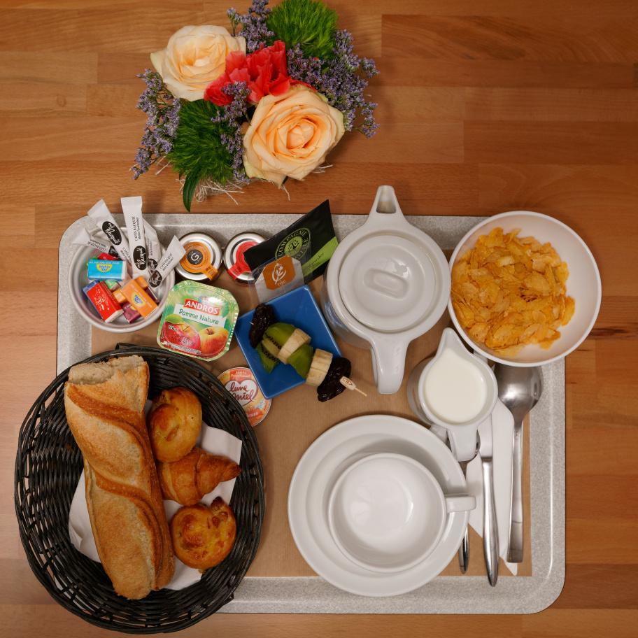 Petit déjeuner Hotel Royal Wilson Centre Toulouse